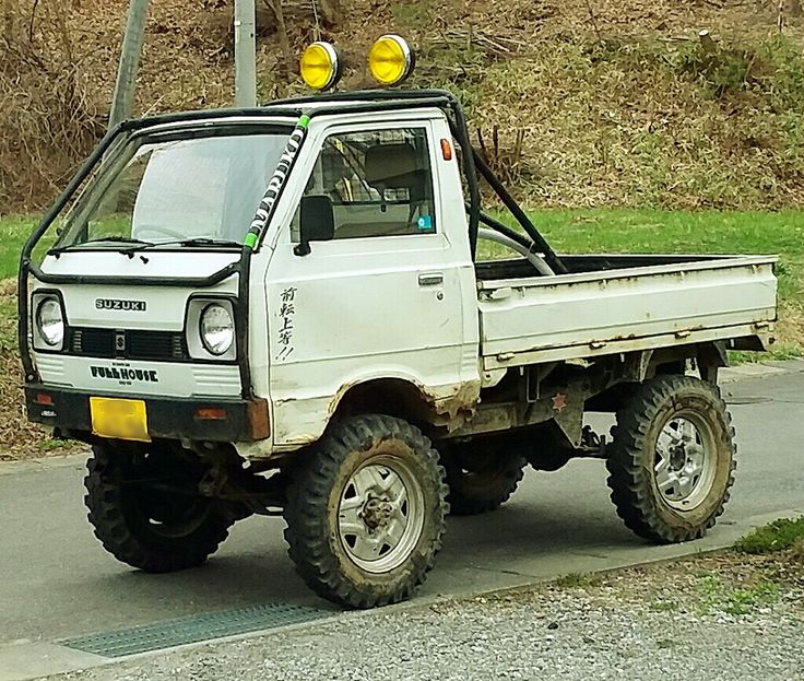 Small Ford Truck: ST30キャリイ4×4