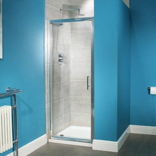 £139.95 Aquafloe 700 Pivot Shower Door - betterbathrooms.com