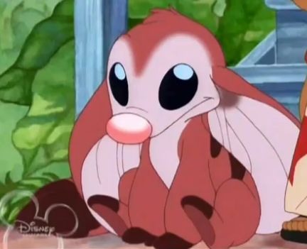 Shush from Lilo & Stitch - one of my fave experiments