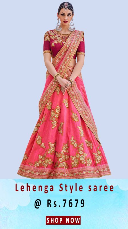 BUY DESIGNER LEHENGAS ONLINE SHOPPING- Fly2kart.com http://www.fly2kart.com/designers-wedding-lehengha.html?utm_content=buffer31f9b&utm_medium=social&utm_source=pinterest.com&utm_campaign=buffer BIG SALE UP TO 35% OFF!!! 8000800110 CALL OR WHATSAPP