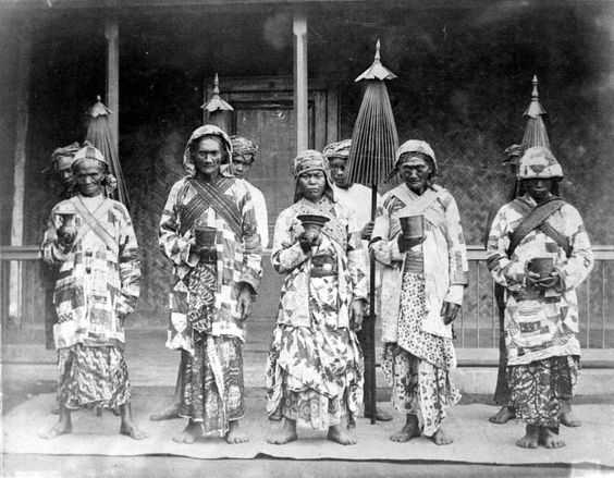 Tengger people, East Java. Date unknown.