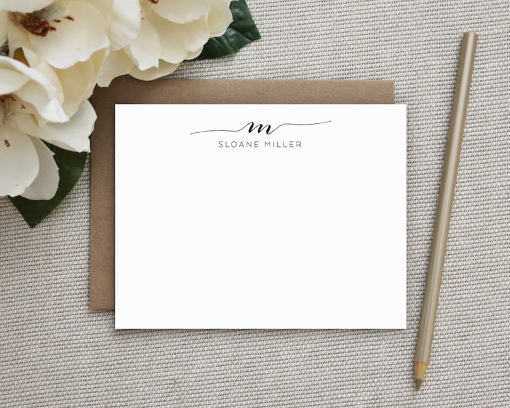 Personalized Stationery. Personalized Notecard Set. Personalized Stationary. Monogram / Monogrammed Stationery / Note Cards. Swash Monogram. by TheSwoonPaperCo on Etsy https://www.etsy.com/listing/248532002/personalized-stationery-personalized