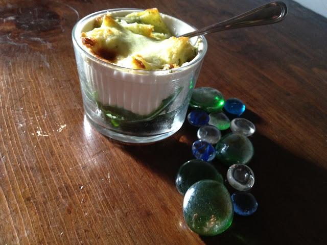 lasagnette radicchio scamorza e speck - italian food, love italy