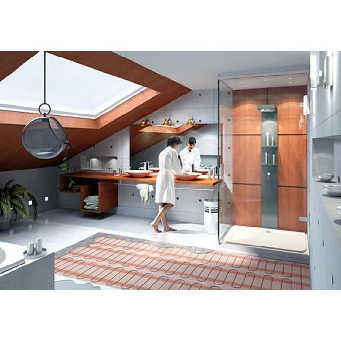 Underfloor Heating Mat Set: U0027Raychem T2Quicknet 160u0027. Underfloor Heating  From UK Bathrooms