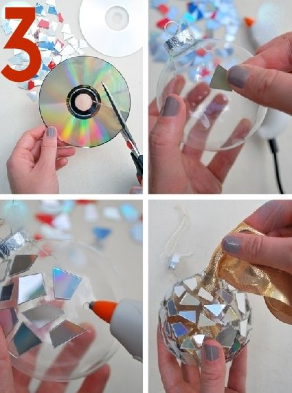 great ideas for DIY Christmas ornaments
