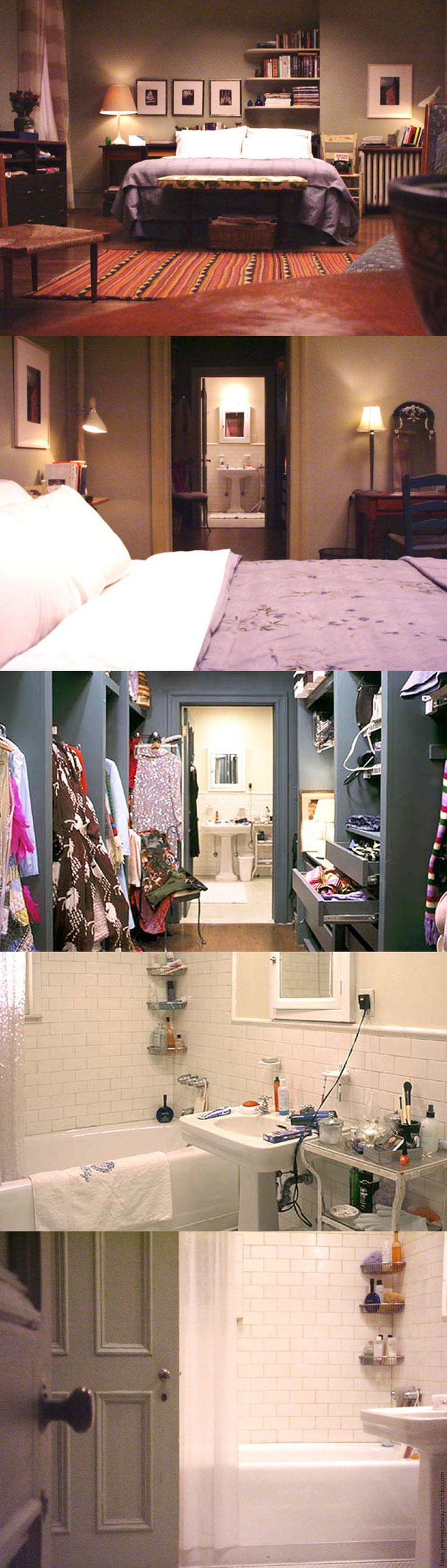 IN DA HOUSE: O APARTAMENTO DE CARRIE BRADSHAW                                                                                                                                                                                 More                                                                                                                                                                                 More