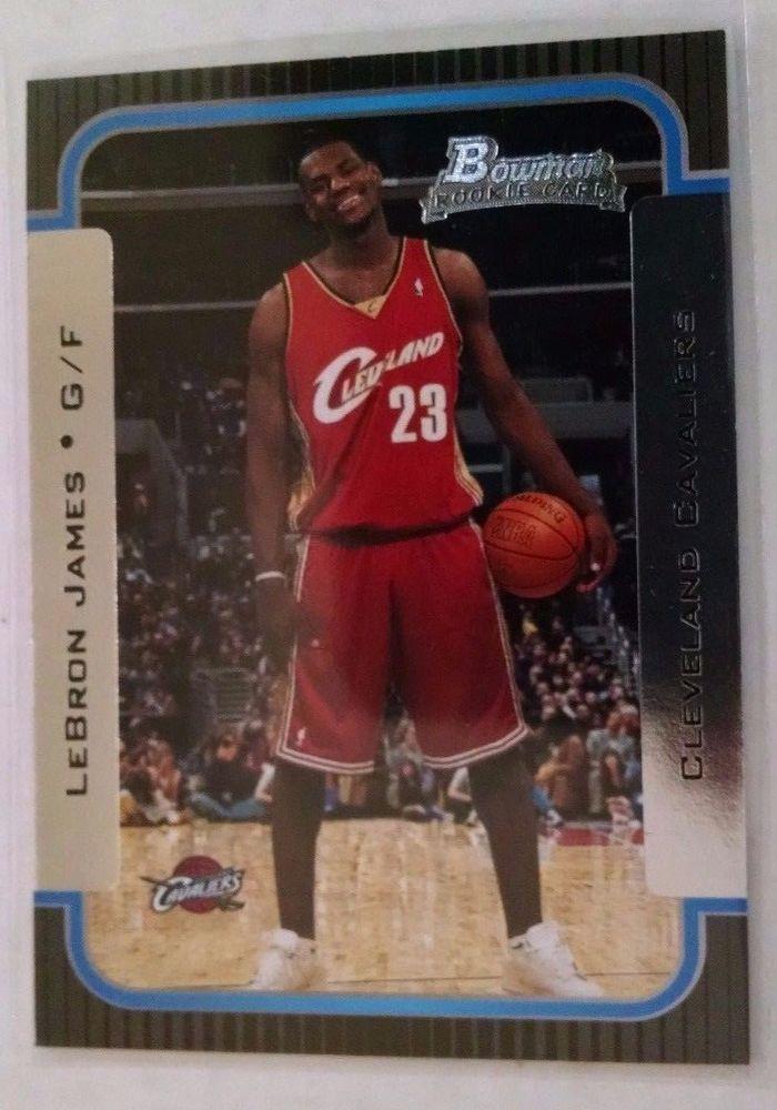 2003-04 Bowman  #123 LeBron James Rookie Card #ClevelandCavaliers