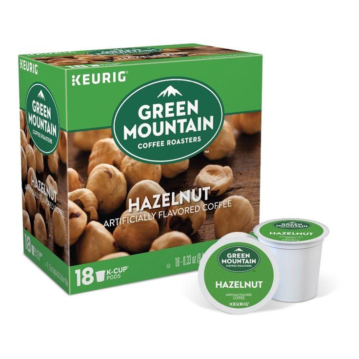 Green mountain coffee hazelnut flavored medium roast