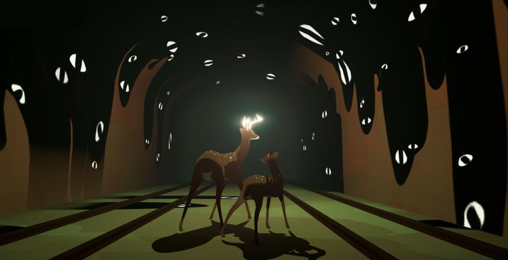 All of the lights will guide you to the woods. Coming early 2019 to PC and Console.