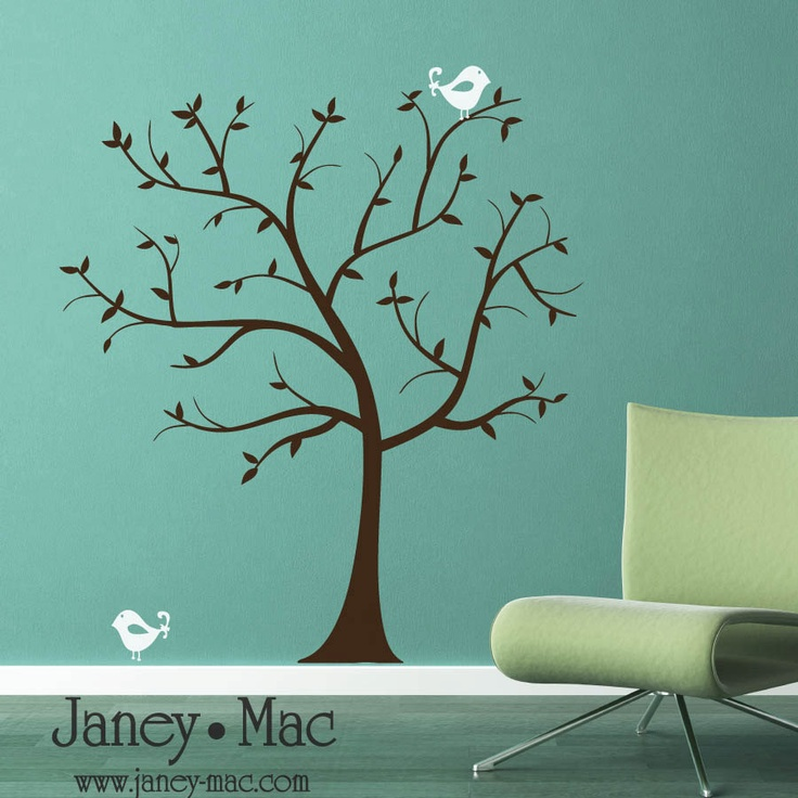 Best Vinyl Images On Pinterest Vinyls Stickers And Vinyl - Wall decals birdsbirds couple on branch wall decal beautiful bird vinyl sticker