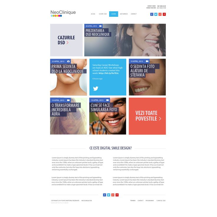 Microsite Digital Smile Design