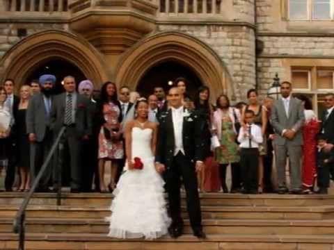 Interracial Wedding, Indian & Black Couple - Blasian. Love is colourblind - YouTube
