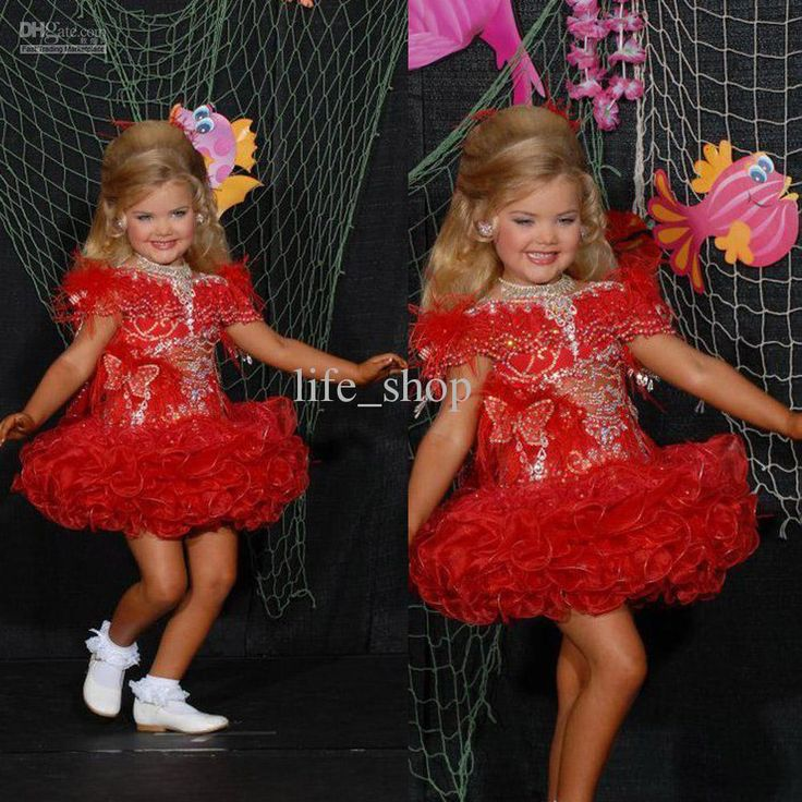 Cheap Girls Pageant Dresses - Discount Newest Red Girls Pageant Dresses Cupcake 2013 Eden Online with $154.0/Piece | DHgate