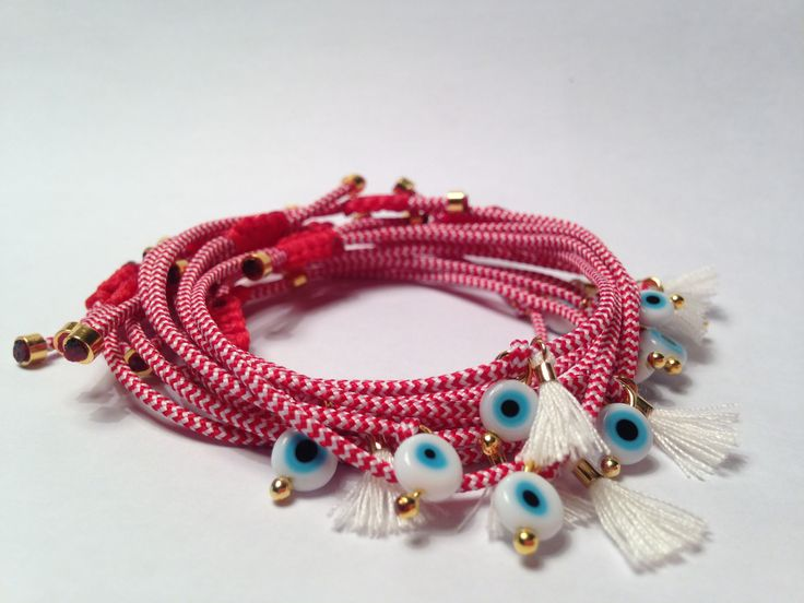 Handmade March bracelet by Chryssa M