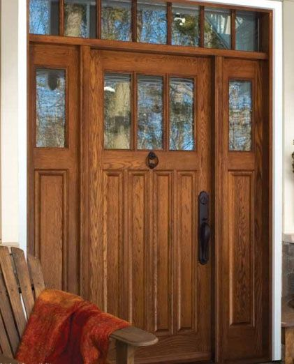Lemieux Exterior Wood 808 Red Oak With Seedy Baroque Insulated Glass