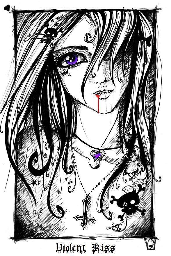 434 best Diseños - Angeles, demonios y vampiros images on Pinterest ...