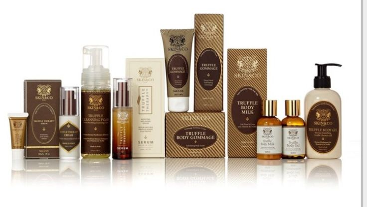 Beauty Find!  For Divas of course!  Introducing New Truffle Therapy Anti-Aging Skin and Body Care by Skin & Co Roma
