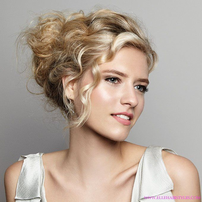 Wedding Hairstyles Ideas Side Ponytail Messy Updo Curly For Guests Determining The