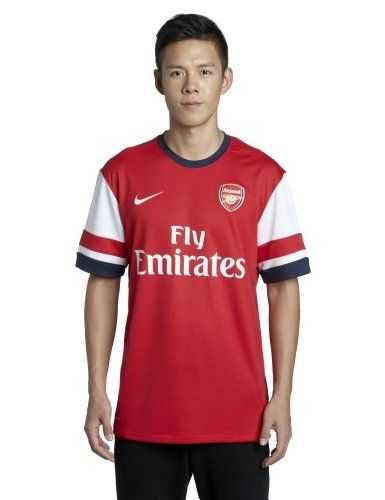 Arsenal Home Football Shirt 2012/14 by Nike. $69.11. Arsenal fans:  With a new core of players from the transfer period and the returning veteran club players such as #6 KOSCIELNY, #8 ARTETA, #17 SONG, & #14 WALCOTT, watch out for the Gunners to battle for the EPL title in 2012-13 as well as the 2013 UEFA Champions League.  Therefore, you do not want to miss out on this new awesome looking home jersey for this new soccer season.  Go GUNNERS!!