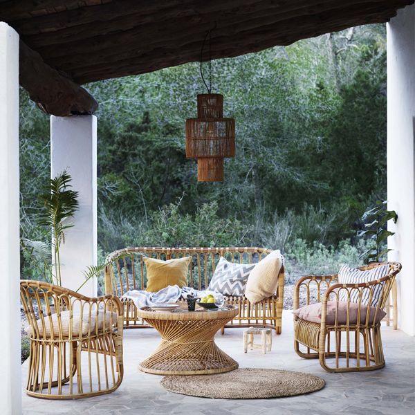 25 beste idee n over rotan stoelen op pinterest rotan en loggia - Woonkamer rotan voor veranda ...