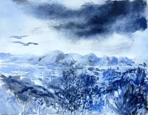 Patricia Fraser   Newlands Afternoon #2   Monotype   R3600    SOLD