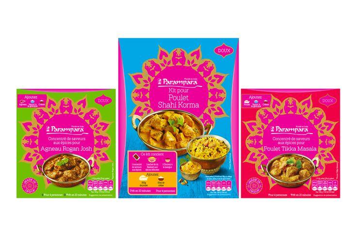 Alors qu'il vient d'annoncer la vente de Géant Vert, General Mills annonce le lancement de plusieurs nouvelles marques en France. Parampara est l'une de celles-ci et comporte des produits d'épicerie pour cuisine indienne. La gamme comprend un large choix de concentrés de saveurs aux épices (2,99 € le sachet pour 4 personnes) ou des kits (6,25€ pour 4 personnes). De quoi faire soi-même son poulet Tikka, son Biryani ou un Butter Chicken comme vous le feriez avec Old El Paso pour un repas…