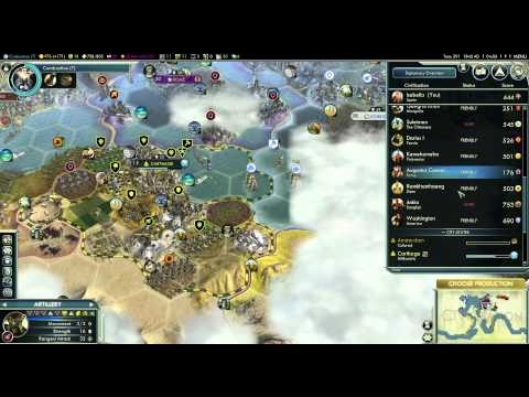 Let's Play Civilization 5 (Huge Earth Gameplay) - Part 41 - Golden Age