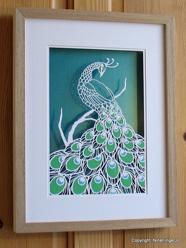 Papercut, Paper Cut, Papercutting, Paper Cutting, Papercut Art, Paper Cut Art, Paper Cutting Art, Paper Cut Out, Wall Art, Pictures, Peacock by NineFingerJo on Etsy https://www.etsy.com/listing/212532509/papercut-paper-cut-papercutting-paper