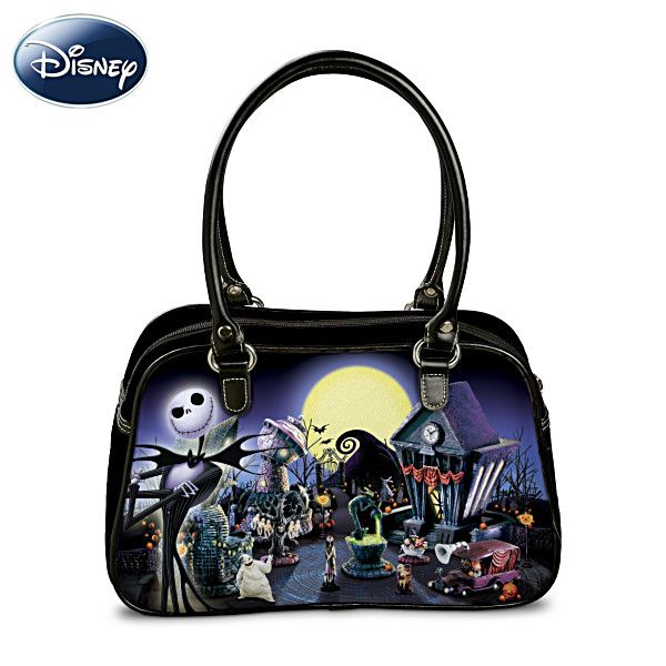 tim burtons the nightmare before christmas handbag i want this for my birthday - Halloween Handbag