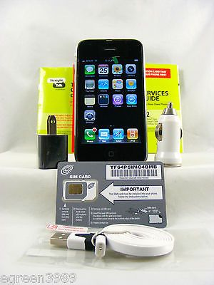 Apple iPhone 3G-8GB Black (AT&T Unlocked)Straight talk (MB702LL/A) | eBay