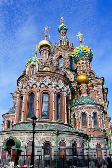 Photo : sejour en russie,  Cathédrales, Russie, Saint petersbourg. Toutes les photos de dominique egre sur L'Internaute