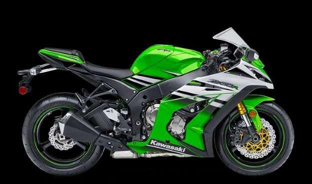 Desenvolvida para as pistas, a Kawasaki H2R tem propulsor de 998 cc, que desenvolve 300 cavalos a 14... - Foto: Reprodução
