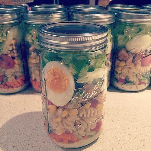 Recetas ensalada en frasco