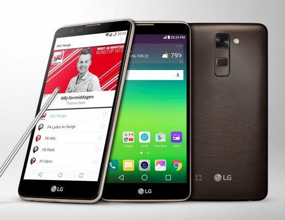 LG STYLUS 2 SMARTPHONE World's First Smartphone with Digital Audio Broadcasting