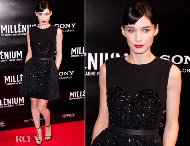 What I want to see: Rooney Mara wearing color