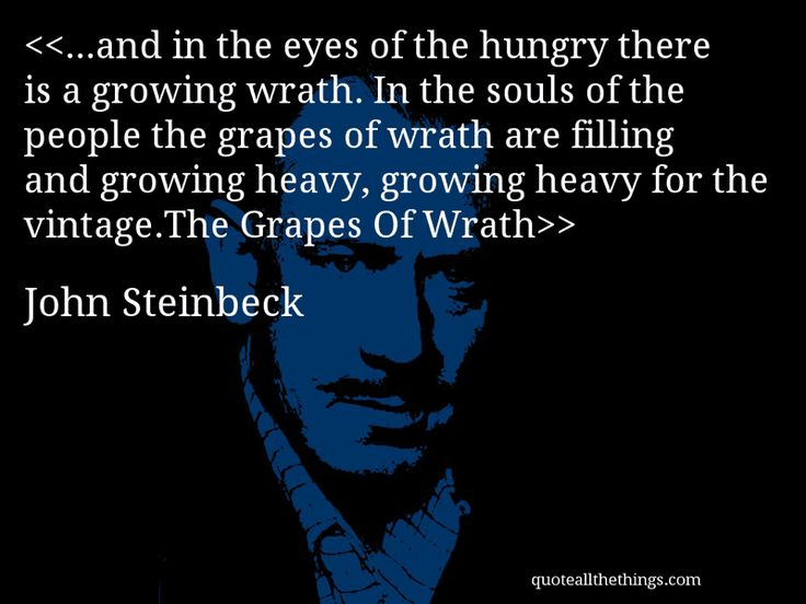 "an analysis of the grapes of the wrath by john steinbeck ""the grapes of wrath,"" by john steinbeck is a classic novel noted for its  descriptive quality, and fascinating writing techniques however, its."