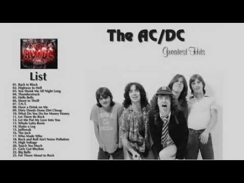 Ac Dc Greatest Hits Full Album 2016 - YouTube