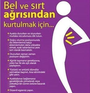 Bel ve sırt ağrısından kurtulmak için! #belağrısı #sırtağrısı #sağlık #sağlıkhaberleri @saglikhaberleri