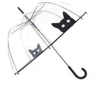 Offrez vous vite ce beau parapluie transparent de la marque SMATI. Drôle et chic avec son imprimé de chat. Colissimo 48h. Livraison offerte dès 39 € d'achat.
