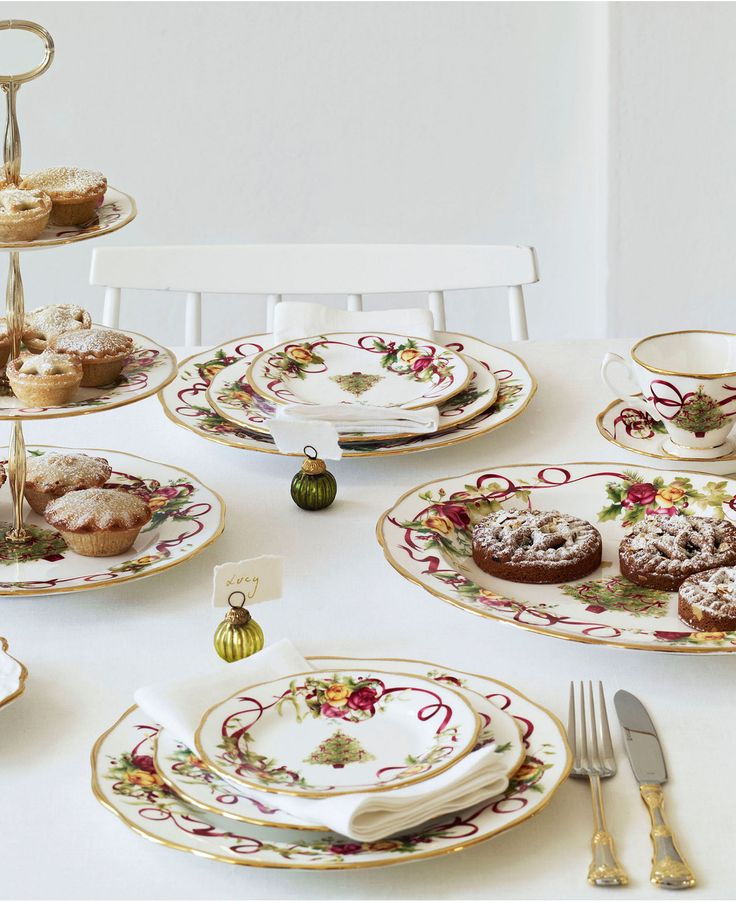 109 best Xmas Table and dishes images on Pinterest   Better homes ...