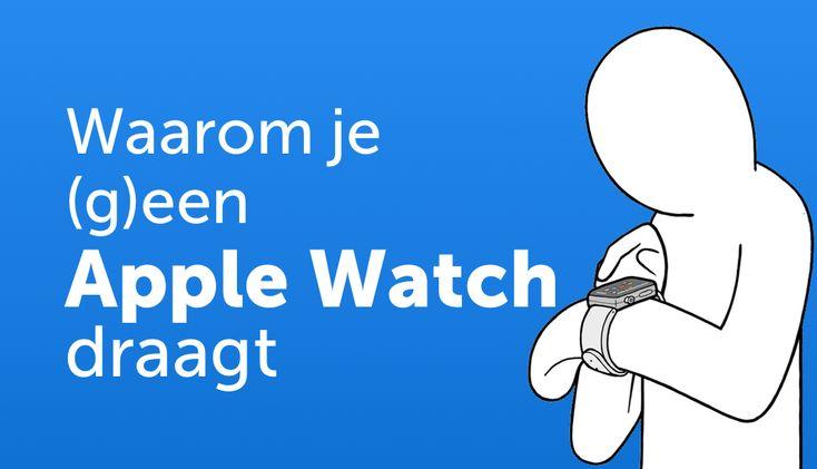 De Apple Watch laat zich moeilijk doorgronden