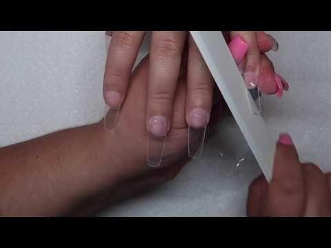 Como moldar unhas caixão | Houston Diva Nails – YouTube