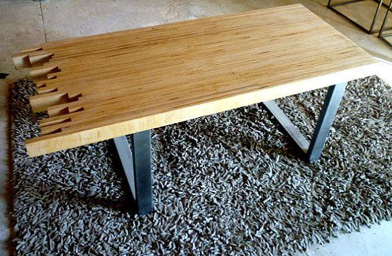 ~: Wood Coffee Tables, Skyline Modern, Tables Legs, Modern Coffee Tables, Coff Tables, Design Coffee, Offices Tables Design, Table Legs, Modern Design