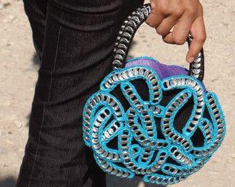 Diseño único Tirar de monedero ficha hecha por macheteonlinesales