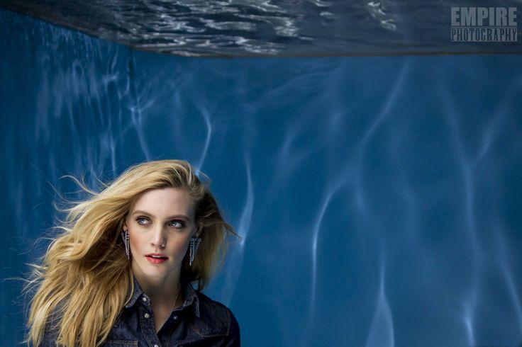 """Model : """" Underwater look model shoot """""""
