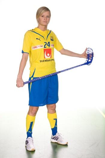 One of my favorite players...Hermine Dahlerus - Captain of the Swedish Women's Team