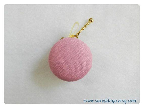 Monedero de macarrón Rosa Pastel adornos colgantes por Sureddoya, $12.90