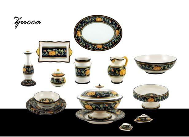 "Collection ""Zucca"" - ""Pumpkin"" Decoration. Ceramics 100% Made in Italy. #italianceramics #handmade #madeinitaly"