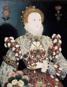 'Queen Elizabeth I - The Pelican Portrait', Nicholas Hilliard
