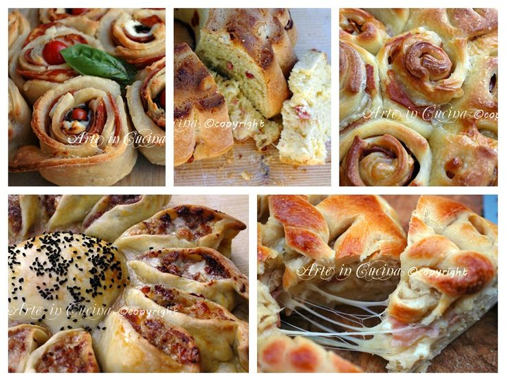 Torte salate e pan brioche idee antipasti